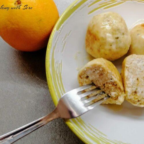 polpette di pollo all'arancia