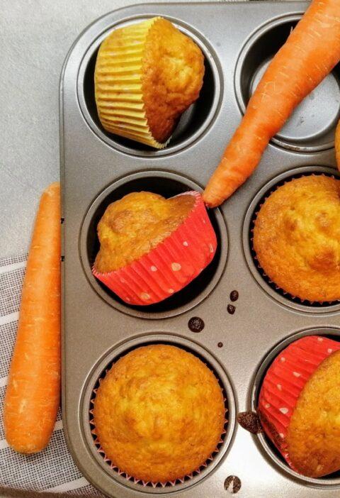 muffin alla carote