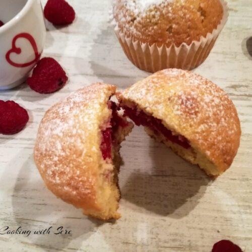 muffin ai lamponi