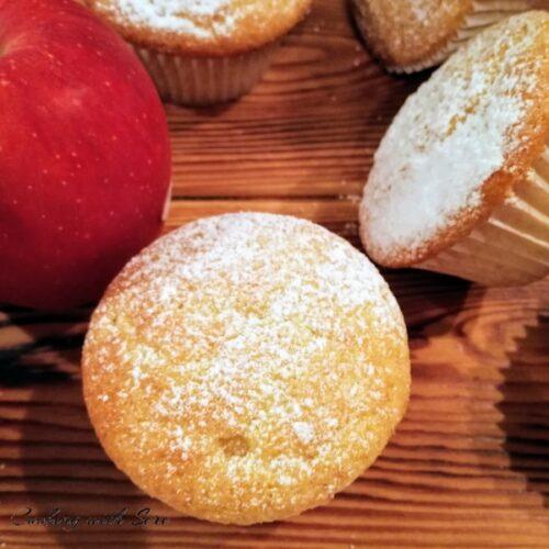 muffin mele e cannella