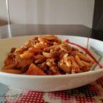 Pasta con polpo e pomodorini