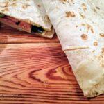 Pasta al pesto di radicchio e pancetta