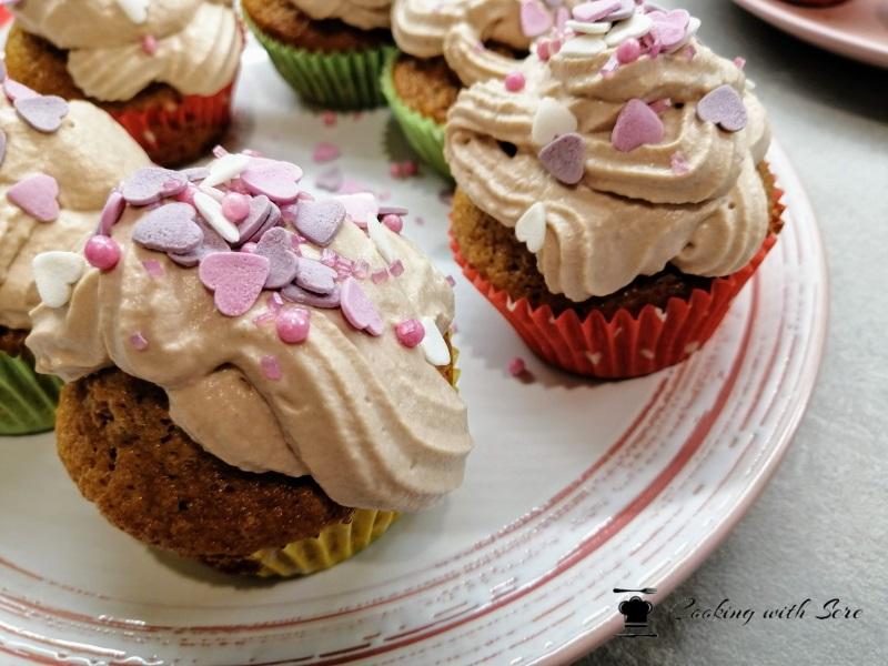 cupcakes alla Nutella, cupcakes di san valentino