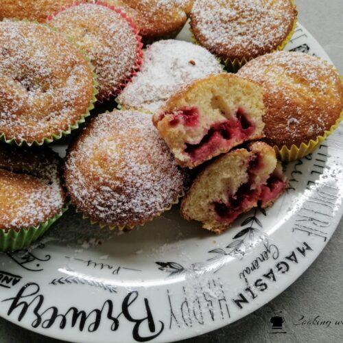 muffin alle fragole senza burro soffici e morbidi