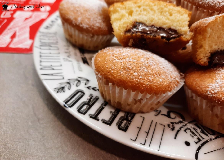 muffin alla nutella senza burro